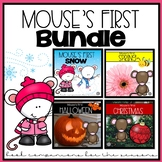 Mouse's First Snow, Christmas, Spring and Halloween Book Companion BUNDLE