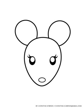 *FREE* Mouse with Cookie and Cheese Printable Craft
