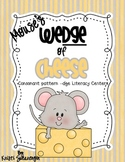 Mouse's Wedge of Cheese consonant pattern -dge Literacy Centers
