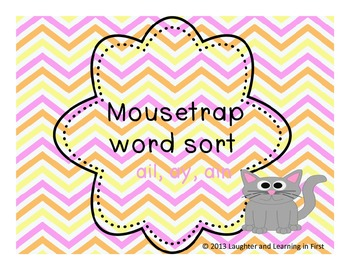 Mousetrap Word Sort Unit