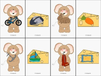 Mousey Association Cards