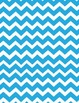 Moustache Mustache Stache Classroom Pack - chevron - blue - stripes - polka dots