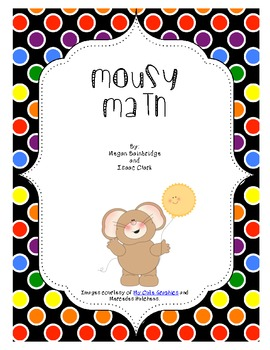 Mousy Math (Adding Multiples of Ten) Math Center