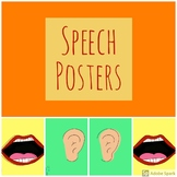 Mouth and Ears Poster