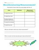 Mouthwatering Measurement - Estimation