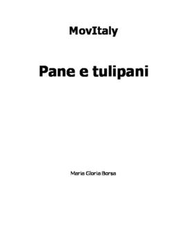 MovItaly: Pane e tulipani