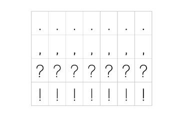 Movable Alphabet - 3 Different Versions