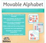 Watercolour Movable Alphabet