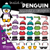 Movable Build a Penguin Clipart