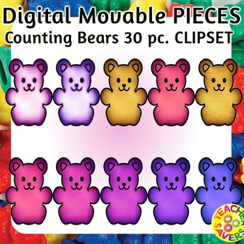 Movable Digital Resource Clip Set Commercial and Personal Use