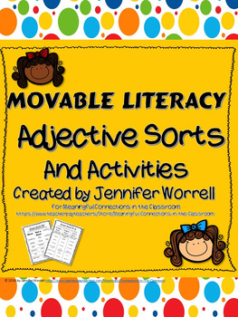 Movable Literacy: Adjective Activities