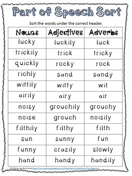 Movable Literacy--Adjective and Adverb Sorts and Activities Bundle