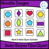 Movable (Moveable) Images-Rainbow Brights Basic Shapes Til