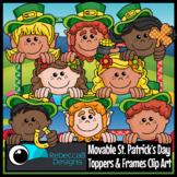 Movable St. Patrick's Day Toppers Clip Art - St. Patrick's