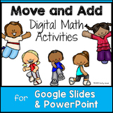 Move & Add Digital Math (to 10) for Google Slides PowerPoi