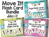 Move It! Flash Card Bundle for Brain Breaks and D.P.A.