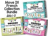Move It! French Flash Card Bundle for Brain Breaks and D.P.A.