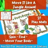 Move It Like A Jungle Animal- Phonics + Movement Fun