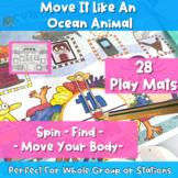 Move It Like A Ocean Animal- Phonics + Movement Fun