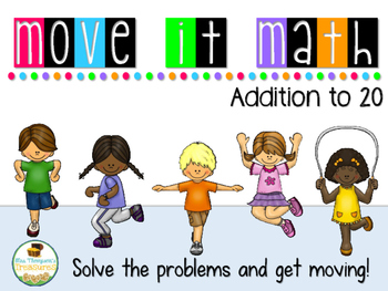 Move It Math - Addition to 20