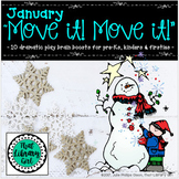 Move It! Move It! January - 10 Dramatic Play Brain Boosts for Pre-K, K & 1st