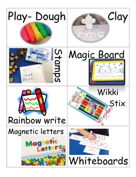 Move It -- To Learn It - WORD WORK stations