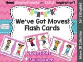 Move It! We've Got Moves Dance Flash Cards