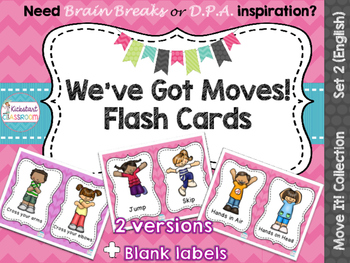 Move It! We've Got Moves Dance Flash Cards
