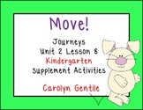 Move! Journeys Kinderarten Unit 2 Lesson 8 Supplement Materials