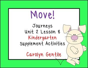 Move! Journeys Kinderarten Unit 2 Lesson 8 Supplement Materials