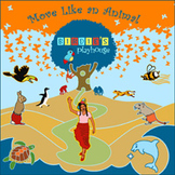 Move Like Animals interactive song, Latin music movement