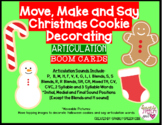 Move, Make and Say Articulation Christmas Cookie Decoratin