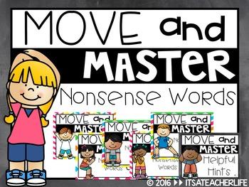 Move & Master | Nonsense Words