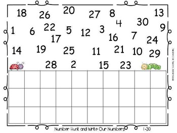 Kinderbykim's Math Wall