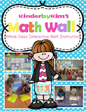 Kinderbykim's Math Wall