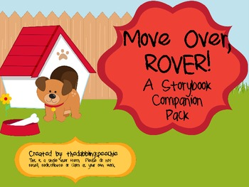 Move Over, ROVER! Speech & Language Book Companion Pack