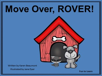 Move Over, Rover!  ~ 35 pgs of Common Core Activities