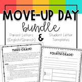 Move Up Day Bundle -- Parent Letters & Student Letter Templates