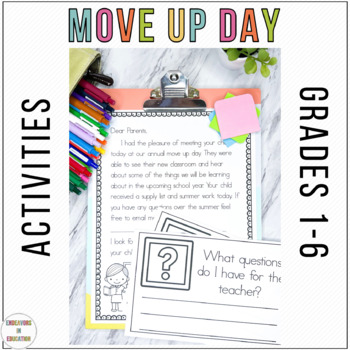 Move Up Day- Editable