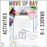 End of the Year Move Up Day- Editable