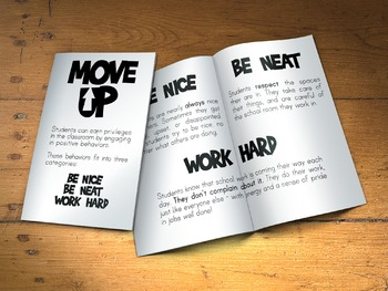 Move Up/Move Down Behavior Plan