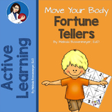 Move Your Body  Exercise Fortune Teller Game