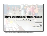 Move and Match for Memorization:  Geometry Sets