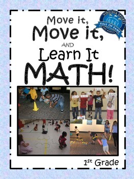 Move it, Move it and Learn it: Math! 1st Grade