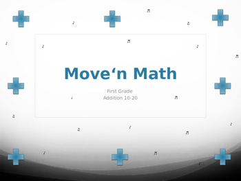 Move'n Math Add It Up - Addition 10-20
