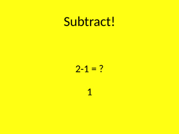 Move'n Math Subtract 1-10