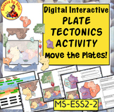 Move the Plates! PLATE TECTONICS DIGITAL INTERACTIVE LAB ACTIVITIES MS-ESS2-2,