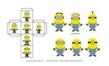 Move with Minions Board Game!