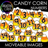 Moveable Candy Corn Numbers 0-20 (Moveable Images)