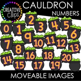 Moveable Cauldron Numbers 0-20 (Moveable Images)